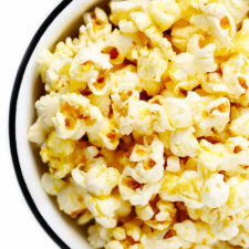 Nooch (Nutritional Yeast) Popcorn Recipe