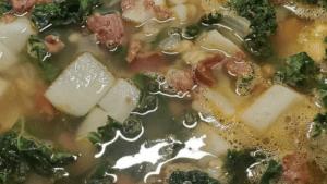 Portuguese Kale Soup Recipe