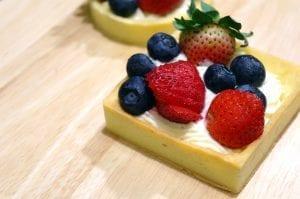 Fruit Tarts with Ricotta Cream Filling Recipe