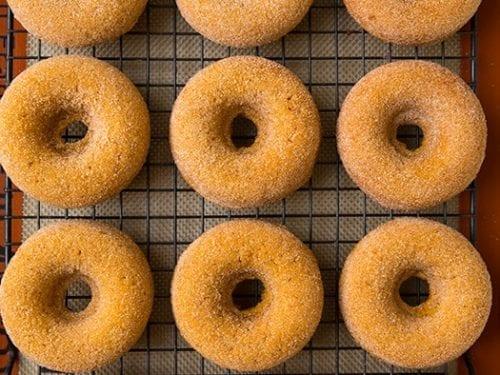 pumpkin doughnuts recipe