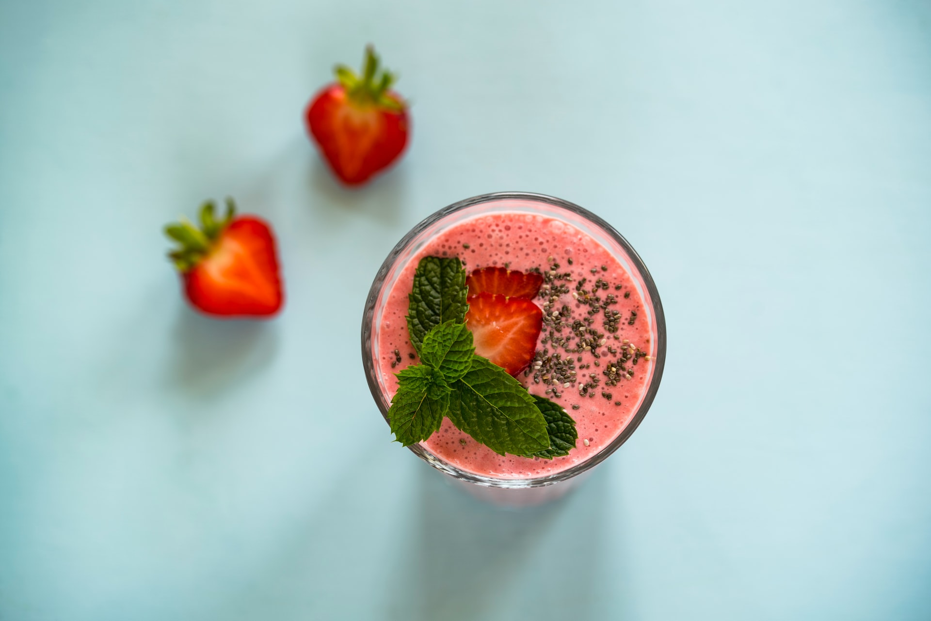 Strawberry Colada Smoothie Recipe