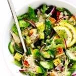 tahini ranch avocado chicken salad recipe