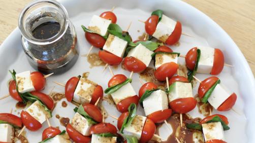 Tofu Caprese Bites Recipe