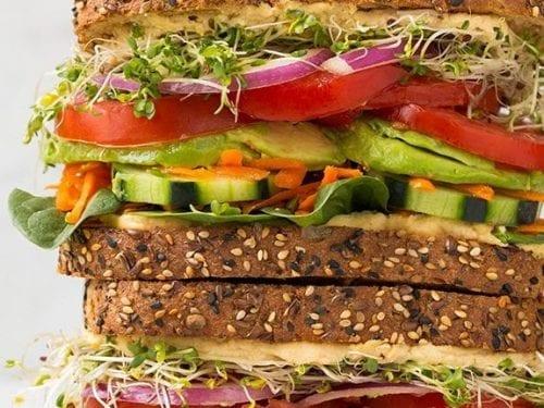 veggie and hummus sandwich recipe