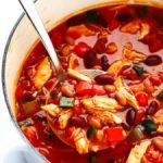 20-minute chipotle chicken chili recipe