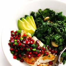 Pan-Seared Fish with Pomegranate Salsa Recipe