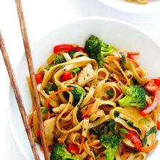 Sesame Chicken Noodle Stir Fry Recipe