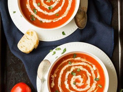 5 ingredient tomato soup recipe
