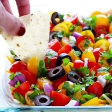 Creamy Seven Layer Dip Recipe