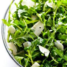 Arugula Salad with Parmesan, Lemon and Olive Oil Recipe