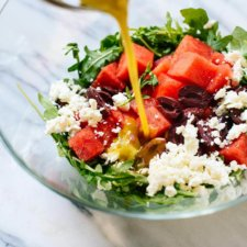Arugula & Watermelon Salad Recipe