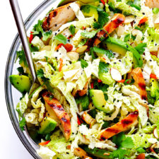 Asian Chicken Chopped Salad Recipe