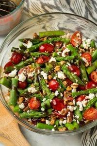 Asparagus, Tomato and Feta Salad Recipe