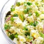 avocado potato salad recipe