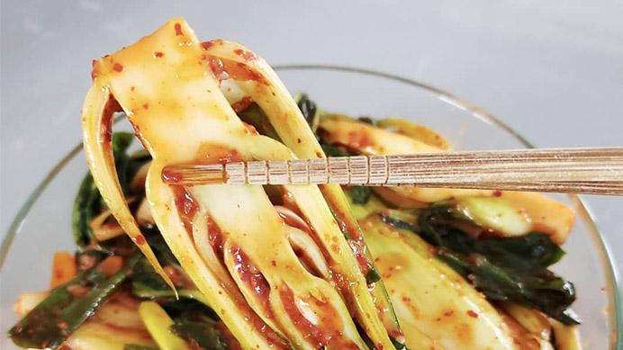 Baby Bok Choy Kimchi Recipe