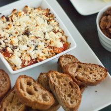 Baked Mediterranean Feta Dip Recipe