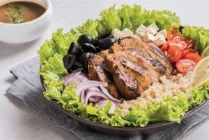 Balsamic Chicken Salad with Lemon Quinoa Recipe