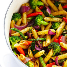 Balsamic Veggie Pasta Recipe