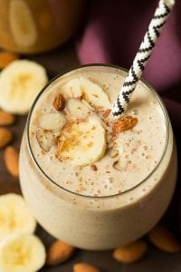 Banana Almond Flax Smoothie Recipe