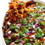 bbq chicken quinoa casserole recipe