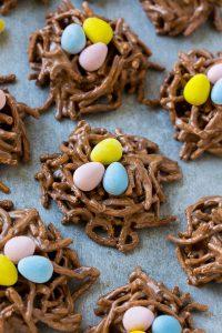 Birds Nest Cookies Recipe