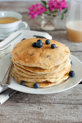 Oat Flour Pancakes and Buttermilk Syrup Recipe