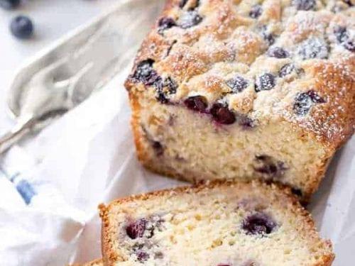 blueberry coconut muffin cake recipe