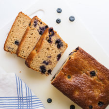 Blueberry Lemon Yogurt Cake Recipe