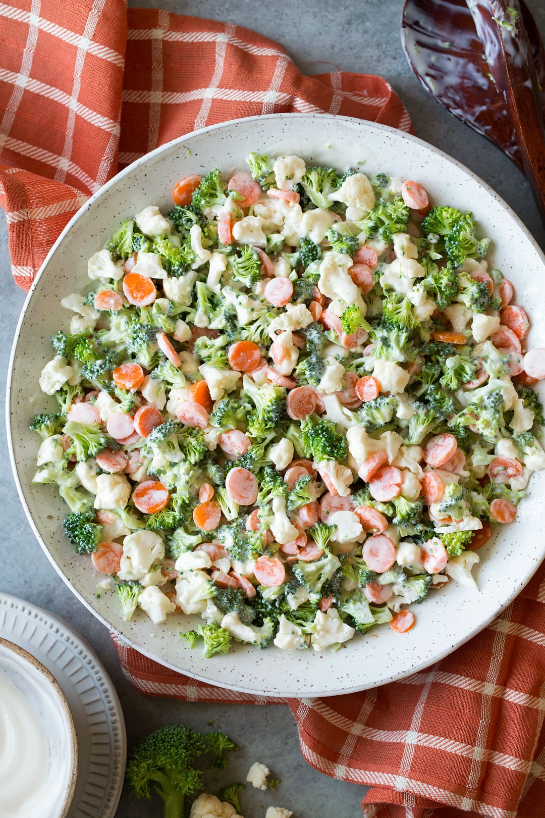 Cauliflower Coleslaw Salad Recipe