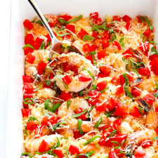 Bruschetta Baked Shrimp Recipe