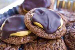 Buckeye Brownie Cookies Recipe