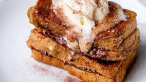 Cappuccino French Toast with Coffee Cream Recipe
