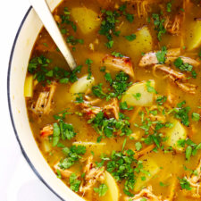 Easy Carnitas Soup Recipe