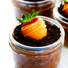 Carrot Patch Dirt Cup Recipe