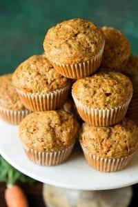 Carrot Zucchini Spice Muffins Recipe