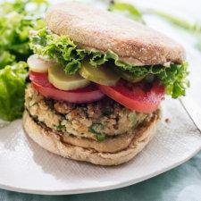 Cauliflower Falafel Veggie Burgers Recipe
