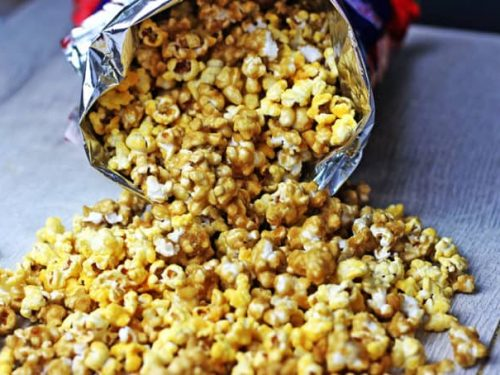 cheddar & caramel chicago mix popcorn recipe