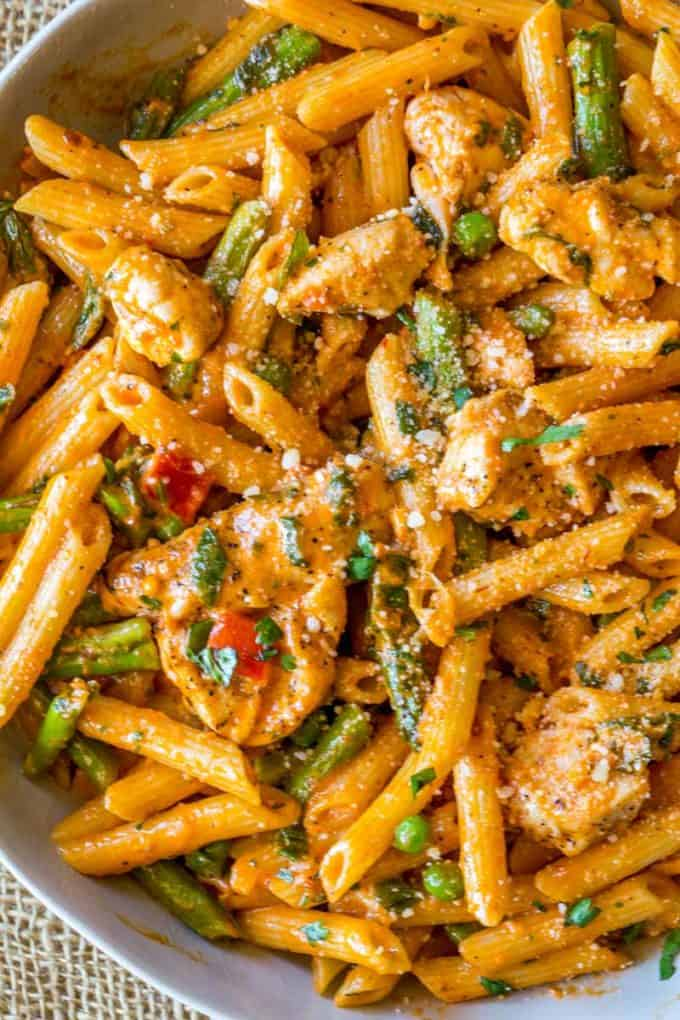 Spicy Chicken Chipotle Pasta Recipe