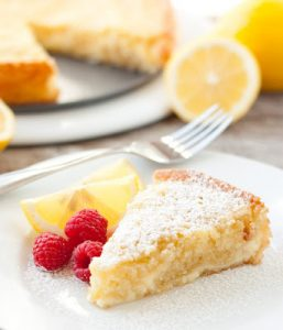 Cheesecake Swirled Lemon Butter Cake Recipe