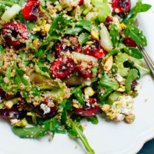 Cherry Couscous & Arugula Salad Recipe