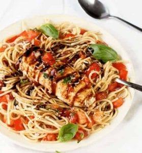 Chicken Bruschetta Pasta Salad Recipe