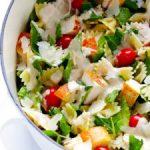 chicken caesar pasta salad recipe