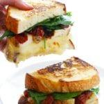 chicken florentine grilled cheese recipe