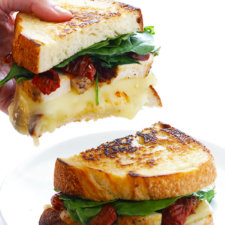 Chicken Florentine Grilled Cheese Recipe
