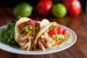 Chicken Tacos (Cafe Rio Shredded Chicken Copycat Recipe)