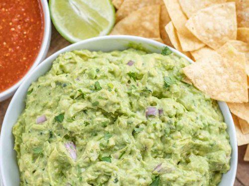 chipotle guacamole (copycat) recipe