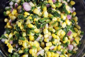 Chipotle Inspired Jalapeno Lime Corn Salad Recipe