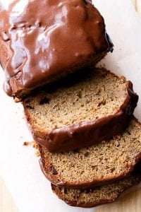 Chocolate Peanut Butter Banana Bread Recipe