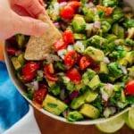 chunky avocado salsa recipe