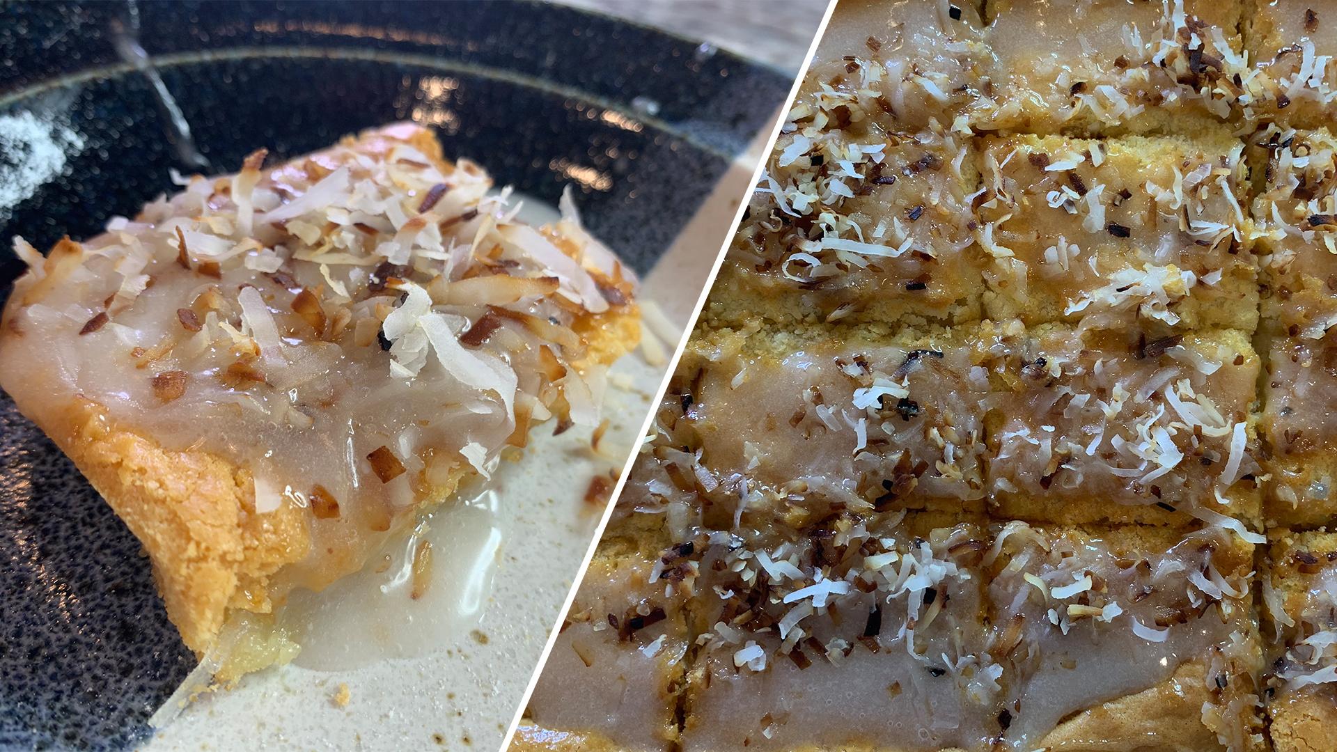 Coconut-Glazed Butter Mochi Recipe